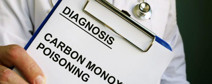 Diagnosis Carbon Monoxide poisoning